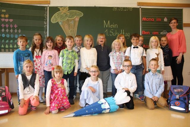 Kinder am Einschulungstag