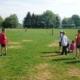 Kinder trainieren ihre Ausdauer